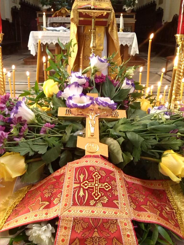 Sărbătoare Înălțării cinstitei și de viață făcătoarei Cruci a Domnului.